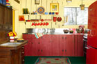 Color Charms a Georgia Cabin's Rustic Revival