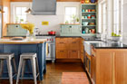 Galley Turned Open-Plan Dining and Cookspace