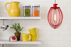 4 Kitchen-Right Lights Made from Cooking Essentials