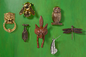 Animal-Shaped Door Knockers