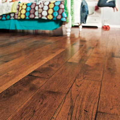 and adds much to its resale value. Prefinished engineered hardwood