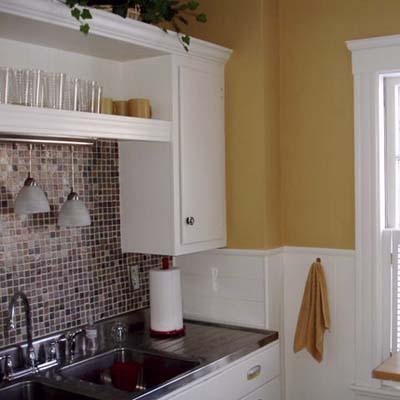 Refurbish Kitchen Cabinets Shelves DIY Home