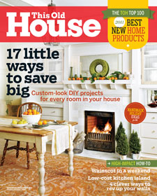 This Old House Magazine Nov/Dec 2011