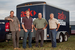 The crew of Ask This Old House