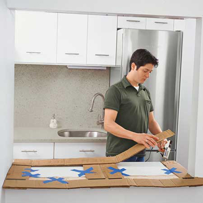 Installingkitchen Countertop on How To Install A Butcher Block Countertop   Step By Step   Kitchen