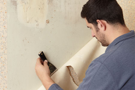 how to strip wallpaper. How to Strip Wallpaper