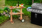 How to Build a Rolling Grill Table