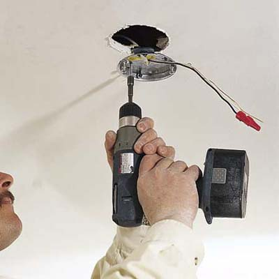 How to Install a Ceiling Fan 1-5:,Lighting