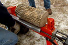 How to Split Logs for Firewood