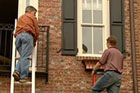 How to Attach Window Boxes to Brick Siding