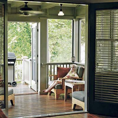 A Porch for All Seasons | Porch Design Solution: Covering a Sun ...