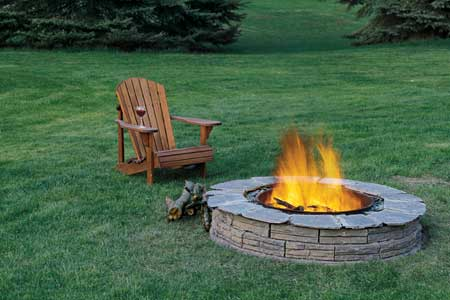 How to Build a Fire Pit | Step-by-Step | Outdoor Structures ...