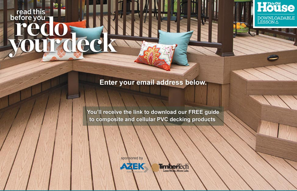 Guide To Composite Decking Decks House Exterior This