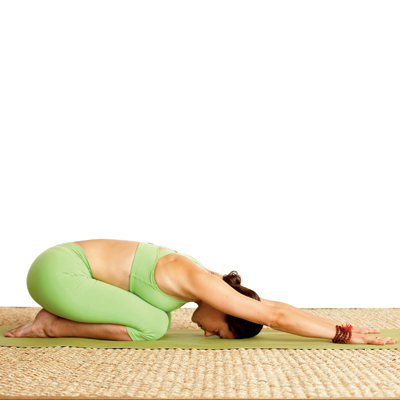 soothe stress  yoga poses  back pain relief  health