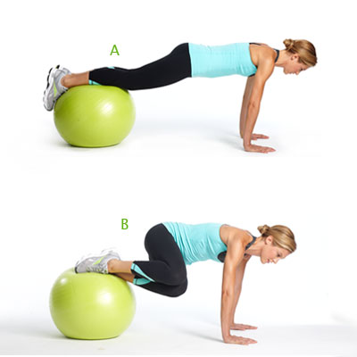Yoga Ball Ab Workouts Soletschat Net