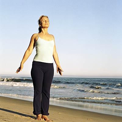 """mountain pose or """"tadasana""""  yoga poses for nonflexible"""