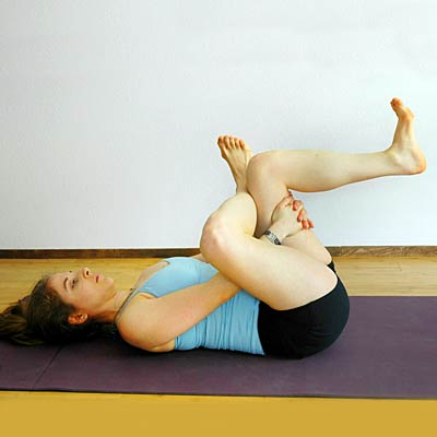 thread the needle  yoga poses for nonflexible people