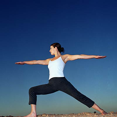 "warrior 2 or ""virabhadrasana ii""  yoga poses for non"