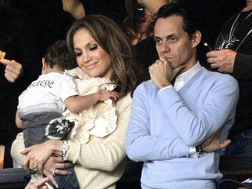 J. Lo and Family Get in the Game - Moms & Babies ...