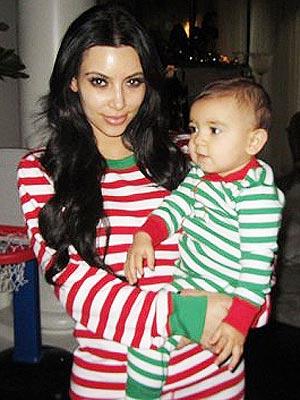 The Kardashians Wear Matching Holiday Pajamas