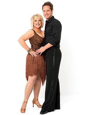 Nancy Grace Introduces Dancing with the Stars Partner Tristan MacManus | Nancy Grace