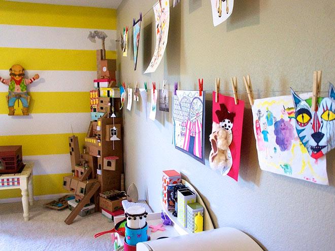 DIY Today and Yesterday: Kids Room Organization DIY!