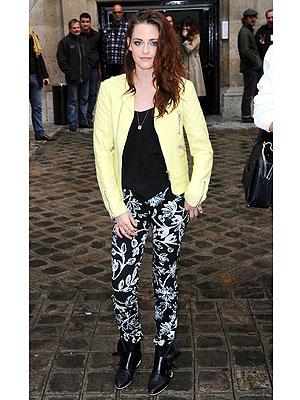 Kristen Stewart Balenciaga Show