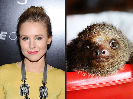 Dax Shepard And Kristen Bell Sloth