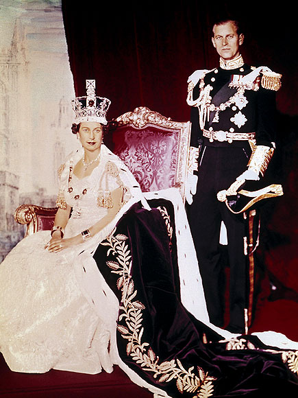CORONATION CELEBRATION photo   Prince Philip, Queen Elizabeth II