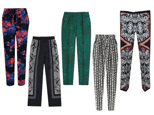 Printed Pants for Fall