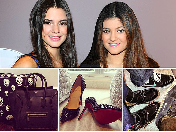 Kendall and Kylie Jenner Christmas Gifts