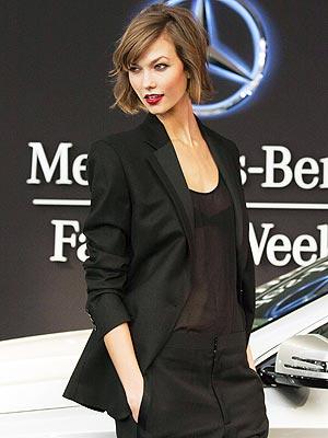 Karlie Kloss Fashion Week