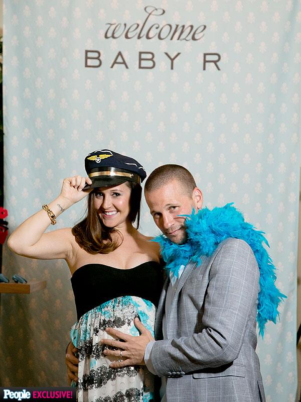 Bachelorette Ashley Hebert JP Rosenbaum Baby Shower