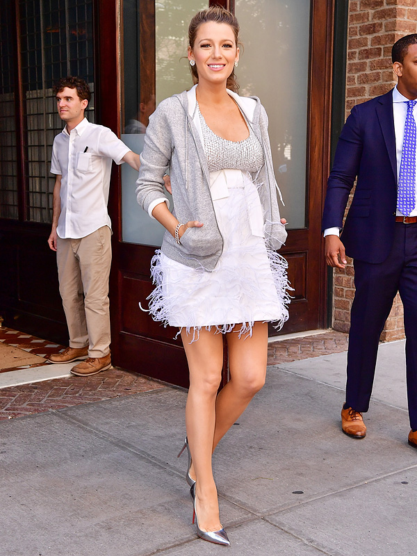 Maternity Maven Blake Lively Is Now Pairing Sweats with Couture – and Still Looks Incredible