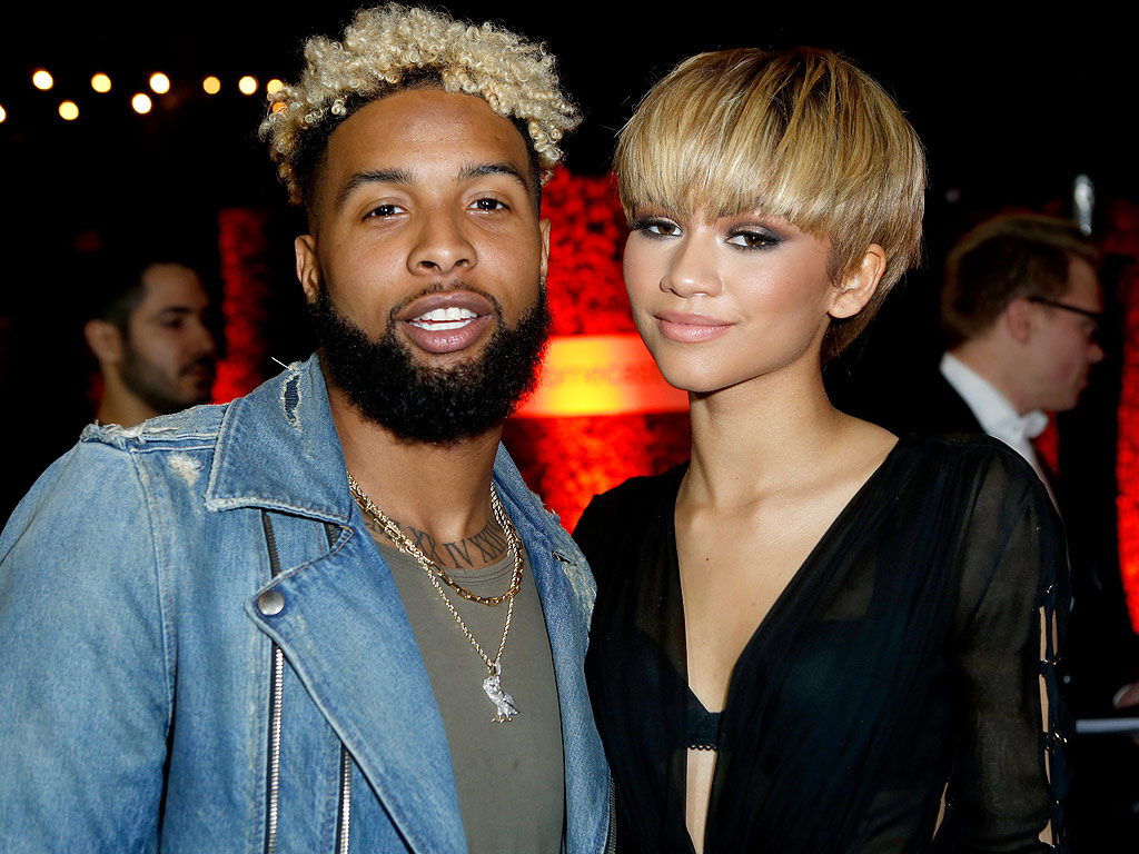 Image result for zendaya and odell beckham jr