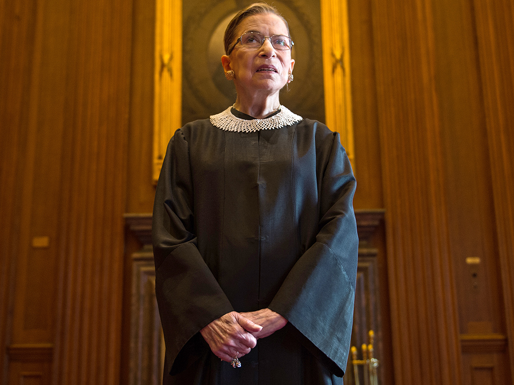 Justice Ruth Bader Ginsburg Apologizes for Donald Trump Comments