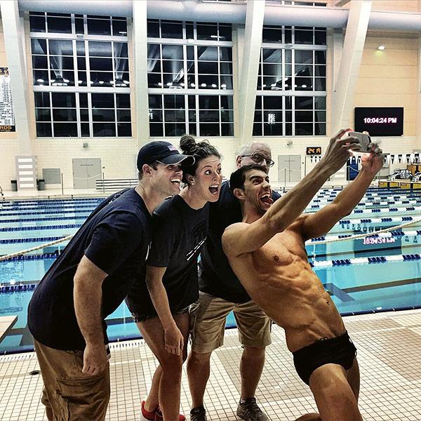 Nothing like Michael Phelps