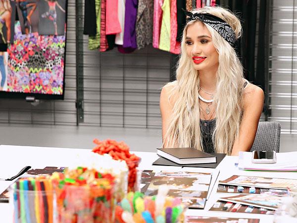 Pia Mia fashion director Material Girl