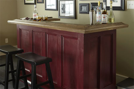 How To Make A Home Bar | New House Designs